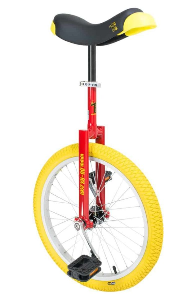 "Luxus unicycle 406 mm (20"") red"