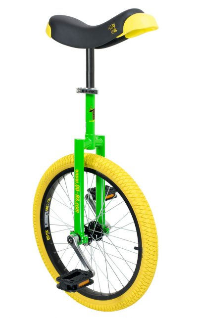 "Luxus unicycle 406 mm (20"") green"