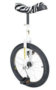 "Luxus unicycle 406 mm (20"") white"