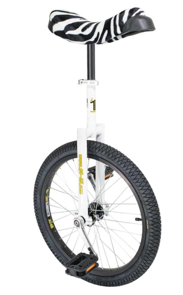 "Luxus unicycle 406 mm (20"") white"