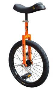 """Luxus 20"""" orange learner unicycle"""