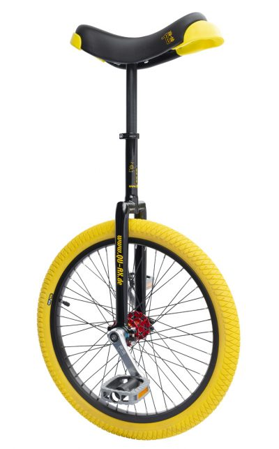 "QU-AX Profi unicycle 20"" black"