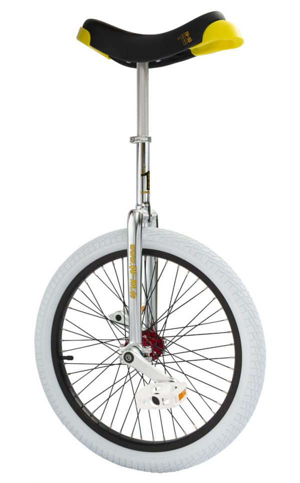"QU-AX Profi unicycle 406 mm (20"") chrome"