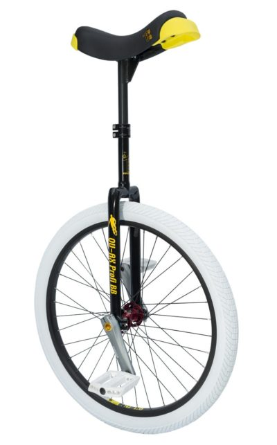 "Profi unicycle 507 mm (24"") BB unicycle Q-Axle black"