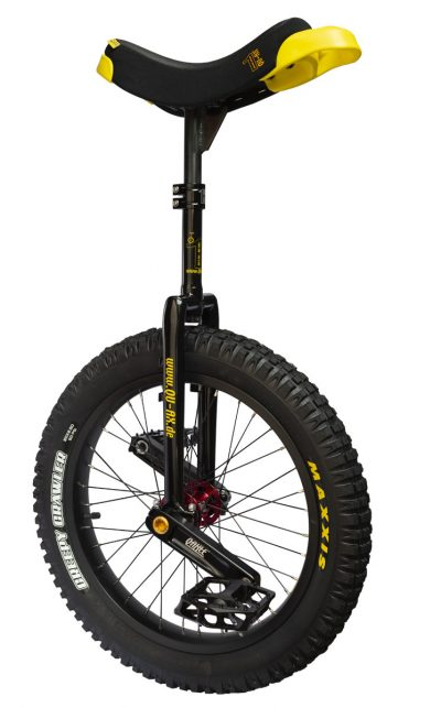 "QU-AX Trials Uni 387 mm (19"") Q-Axle black"