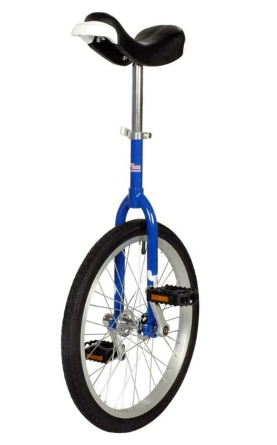 OnlyOne unicycle 406 mm (20″) blue