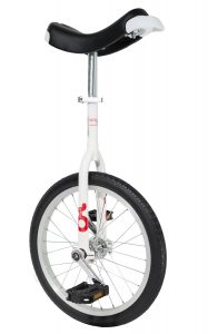 OnlyOne unicycle 355 mm (18″) white