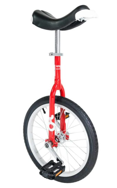 OnlyOne unicycle 355 mm (18″) red
