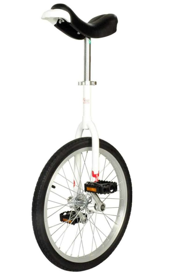 OnlyOne unicycle 406 mm (20″) white