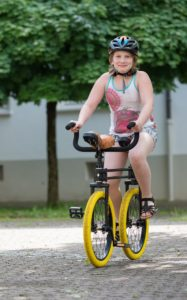 QU-AX Twin Unicycle in Action!