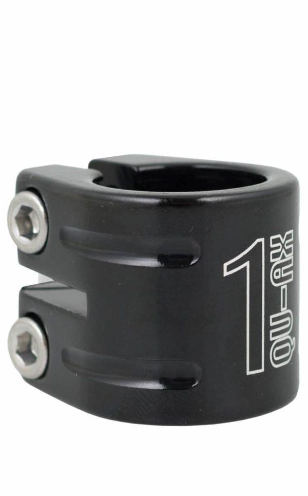 QU-AX Sattelklemme, black, 28.6 mm