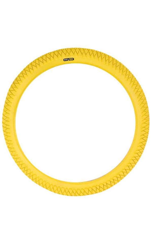 "QU-AX tire 355 mm (18"") yellow"