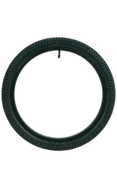 "QU-AX Tire 406 mm (20"") black"