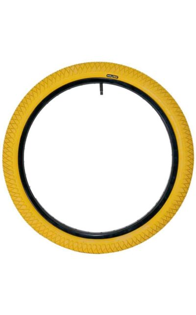 "QU-AX Tire 406 mm (20"") yellow"