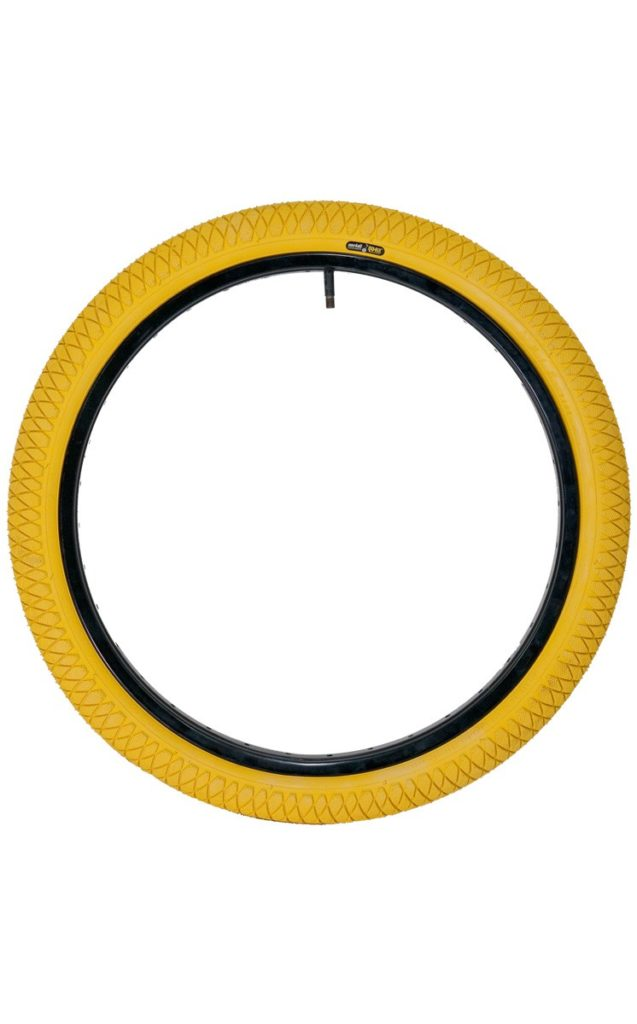 "QU-AX Tire 406 mm (20"") yellow"