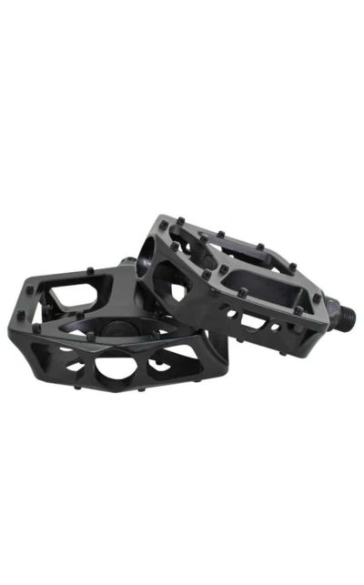 QU-AX Cross Pedals, aluminum, black