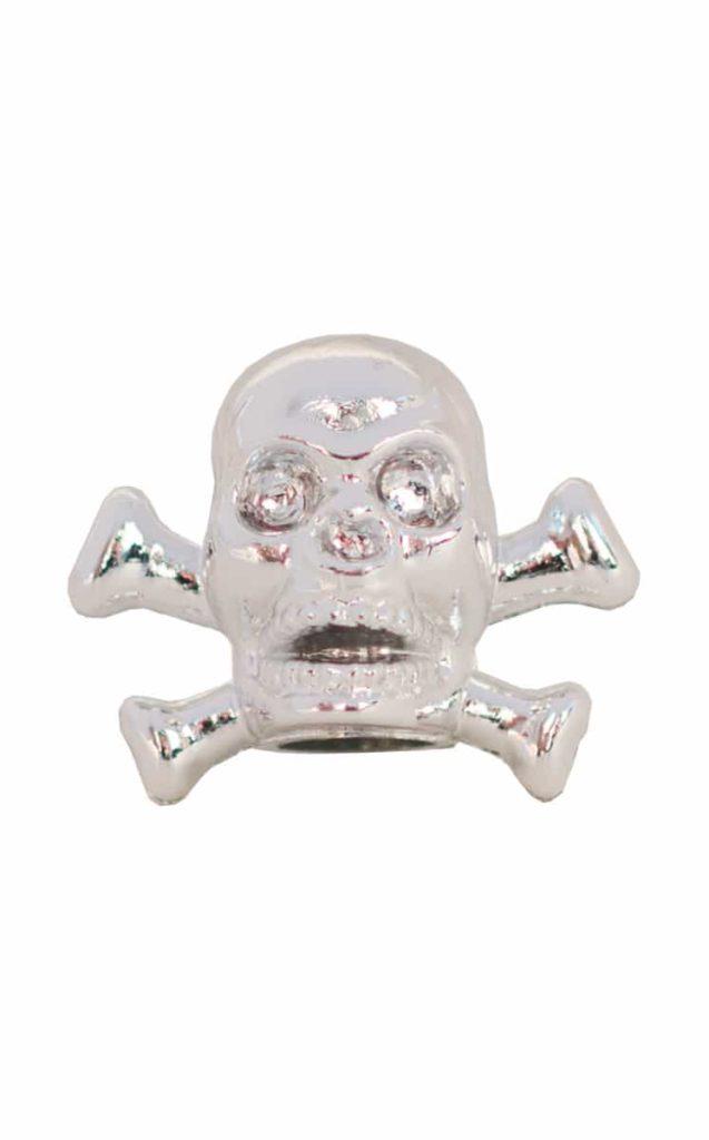 valve cap pirate skull