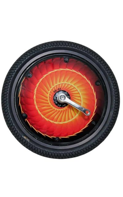 "Wheelcover, 406 mm (20"") Firewheel"