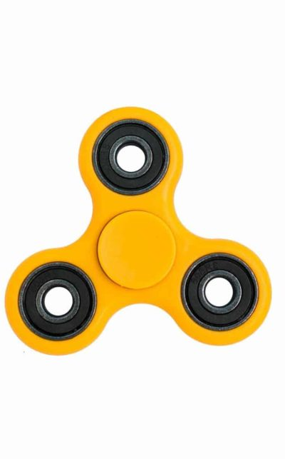 Handspinner, yellow