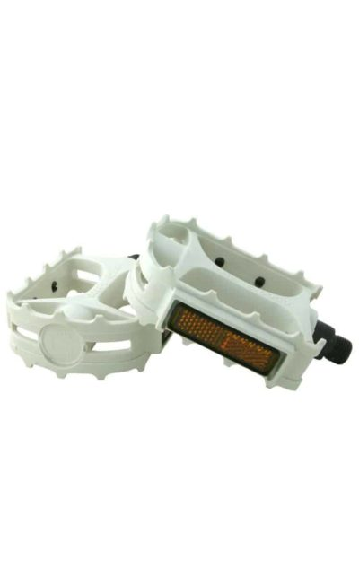 MKS Pedal, Cross, white