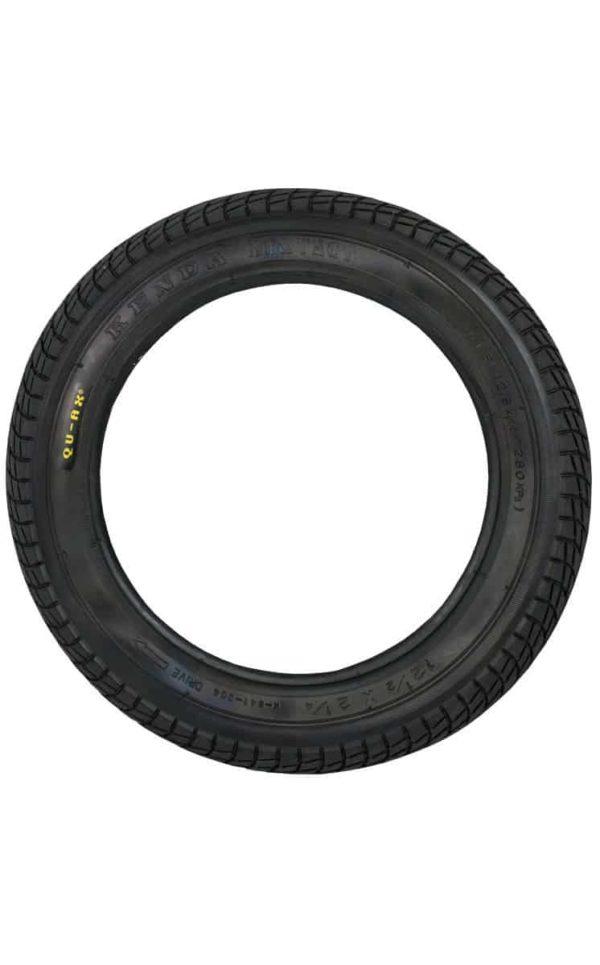 """QU-AX Tire 203 mm (12"""") black"""