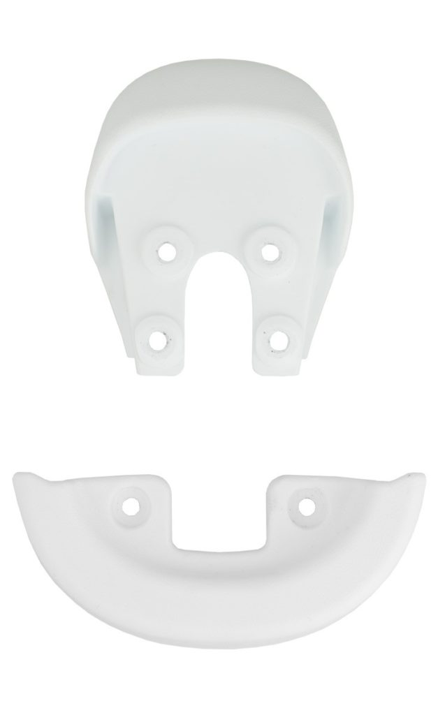 Bumper & integrated Handle, white