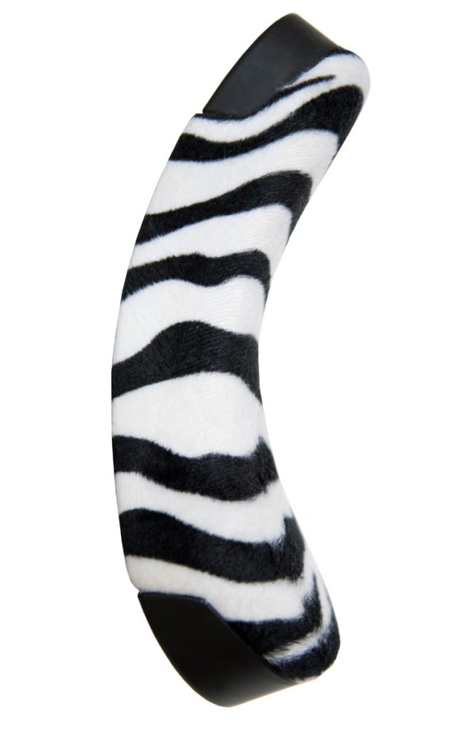 QU-AX Luxus Children Saddle, zebra