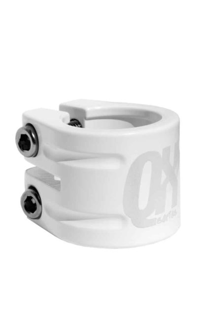 Seatclamp QX debut, white, 31.8 mm