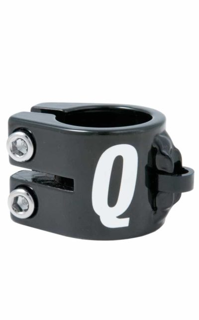 Seatclamp QX triple, black, 31.8 mm