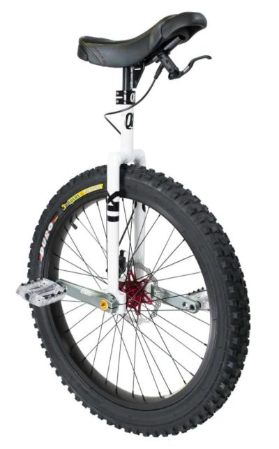 "QX Q-Axle Disc Muni 24"" white"