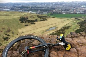 Unicycling through Scotland for Syrian children
