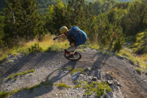 riding lonesome trails in Albania