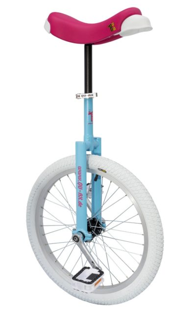 QU-AX Luxus unicycle, babyblue