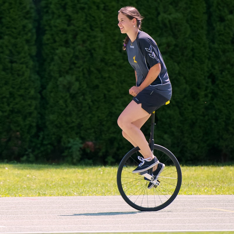 Race unicycles
