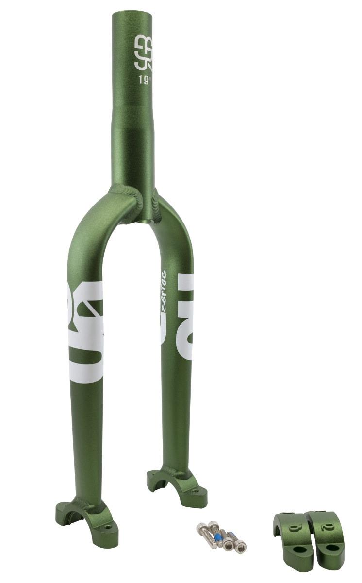 "#rgb unicycle disc frame, 19"", green"