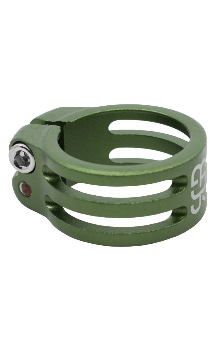 #rgb seatpost clamp, green