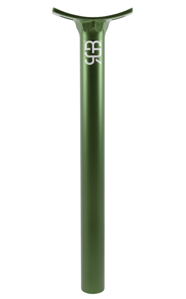 #rgb green 31,6 mm unicycle seatpost
