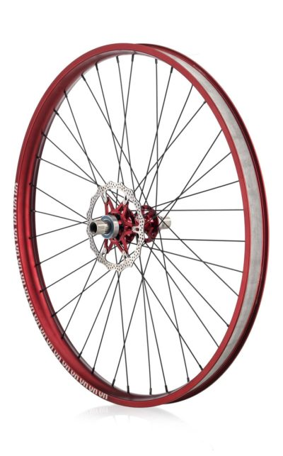 #rgb disc unicycle wheel, red 29