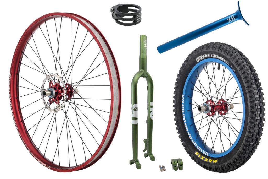 #rgb custom made unicycles