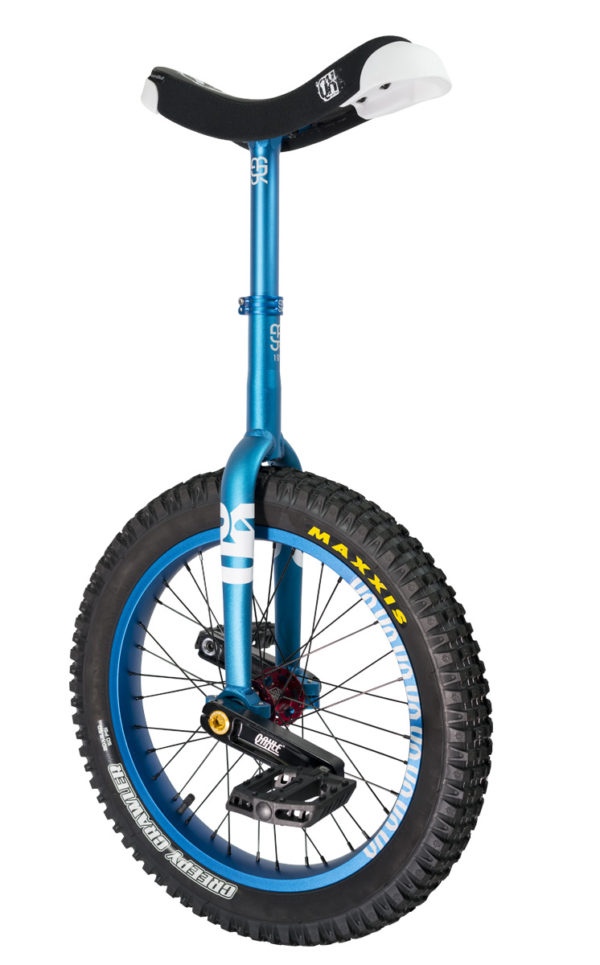 "#rgb 19"" QX unicycle, blue"