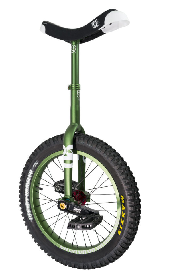 "#rgb 19"" QX unicycle, green"