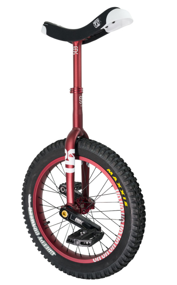 "#rgb 19"" QX unicycle, red"