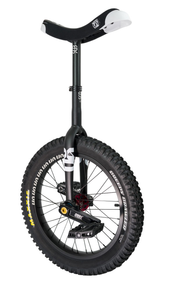 "#rgb 19"" QX unicycle, black"