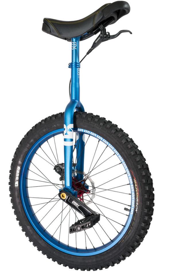 "#rgb 24"" QX disc unicycle, blue"