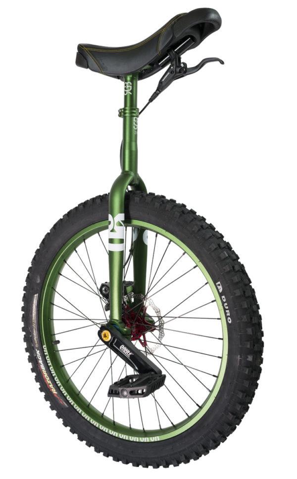 "#rgb 24"" QX disc unicycle, green"