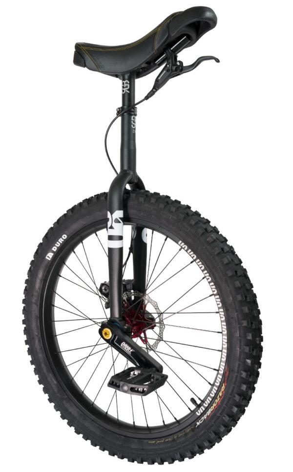 "#rgb 24"" QX disc unicycle, black"