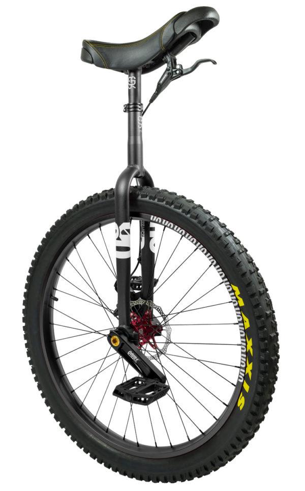"#rgb 27,5"" QX disc unicycle, black"