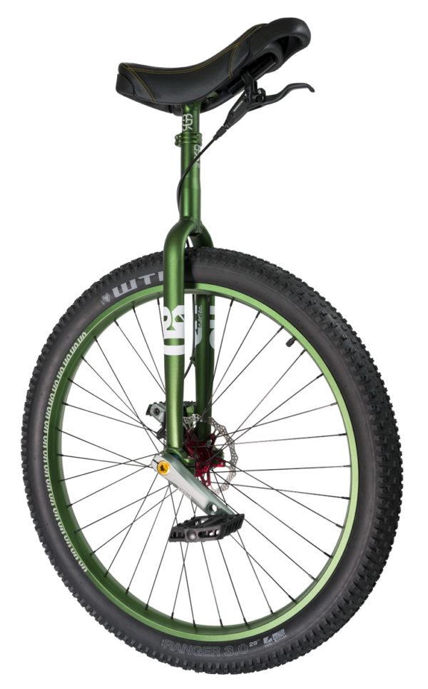 "#rgb 29"" QX disc unicycle, green"