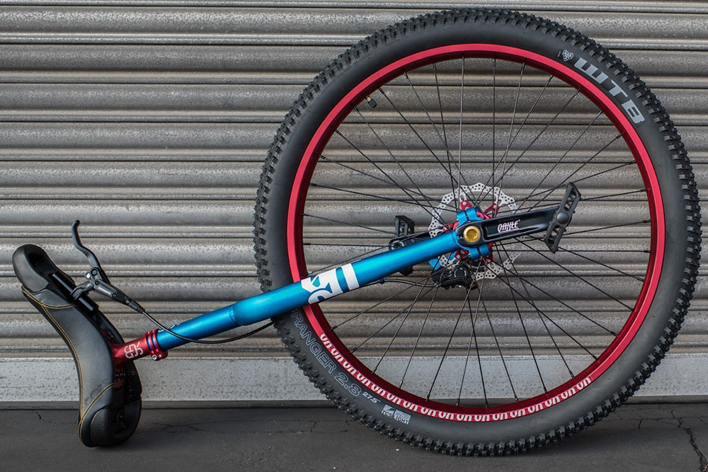 QX #rgb custom unicycle