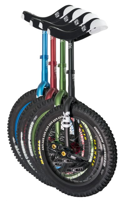 "QX-series #rgb 19"" unicycles"